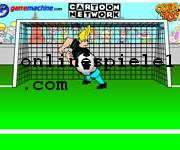 Johnny Bravo in bravo goalie Simulation online spiele